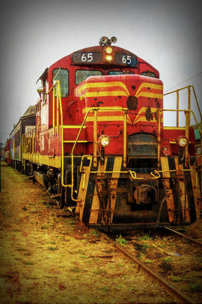 Wall Art - Photograph - 65 Train Engine by Garry Gay