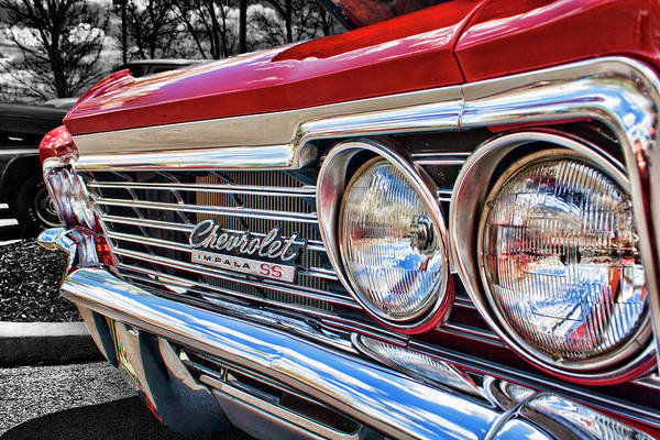 Photograph - '66 Chevrolet Impala Ss by Daniel Adams