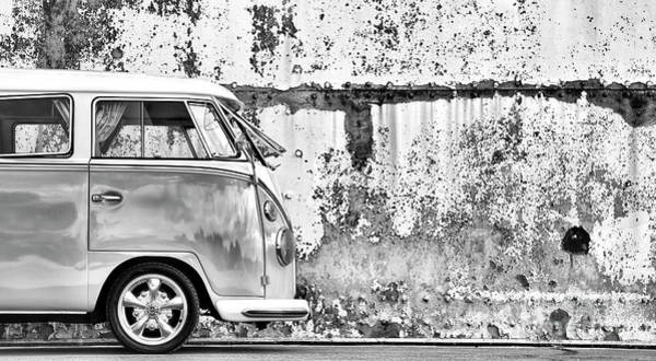 Wall Art - Photograph - 66 Splitty Monochrome by Tim Gainey
