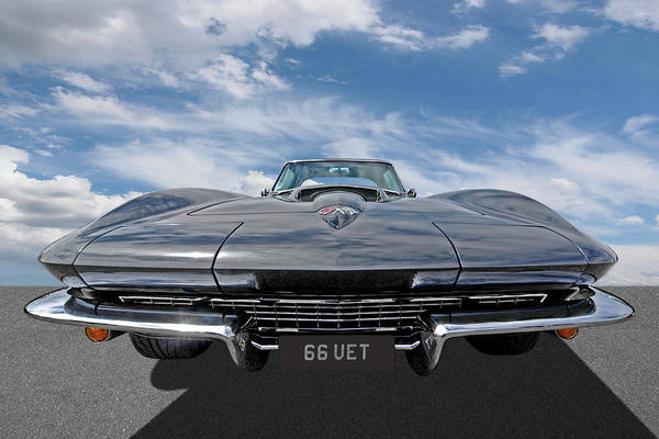 Photograph - 66 Vette Stingray by Gill Billington