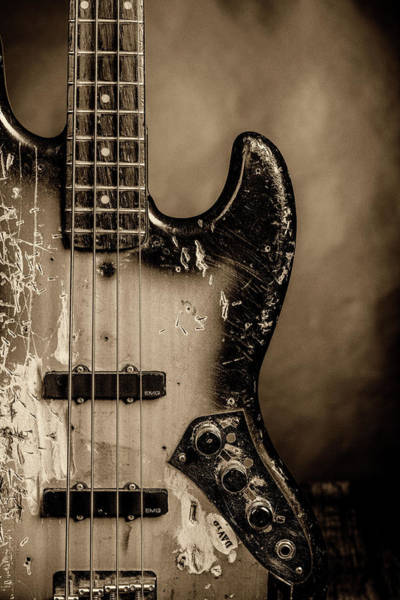 Photograph - 66.1834 011.1834c Jazz Bass 1969 Old 69 by M K Miller