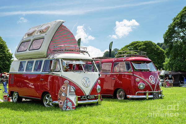 Wall Art - Photograph - 67  Split Screen Vw Campervans by Tim Gainey