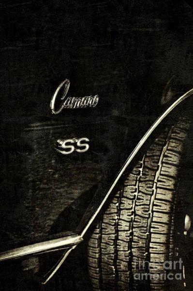 Wall Art - Photograph - 68 Camaro Ss by Tim Gainey