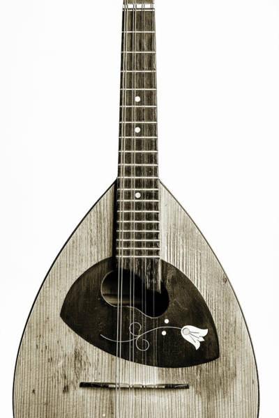 Photograph - 68.1845 Framus Mandolin by M K Miller