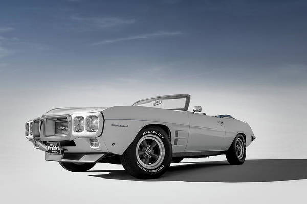 Wall Art - Digital Art - 69 Firebird Convertible by Douglas Pittman