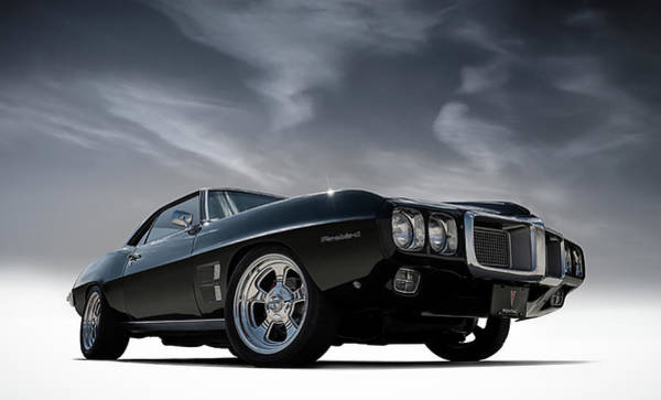 Wall Art - Digital Art - 69 Pontiac Firebird by Douglas Pittman