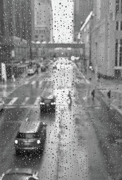 Photograph - 6th And Marquette In The Rain by Jim Hughes