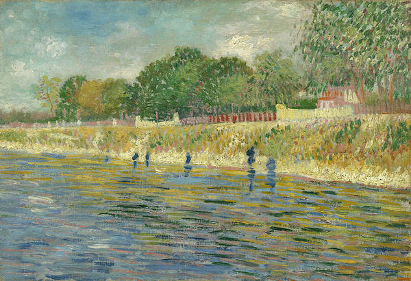 Framing Painting - Bank Of The Seine by Vincent Van Gogh