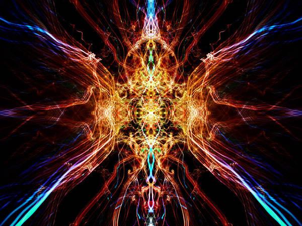 Fractal Digital Art - Cool by Super Lovely