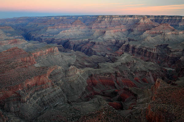 Photograph - Dusk At Grand Canyon by Pierre Leclerc Photography