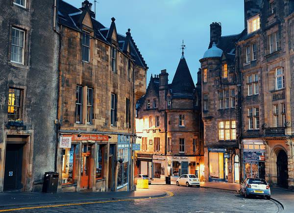 Photograph - Edinburgh Street by Songquan Deng