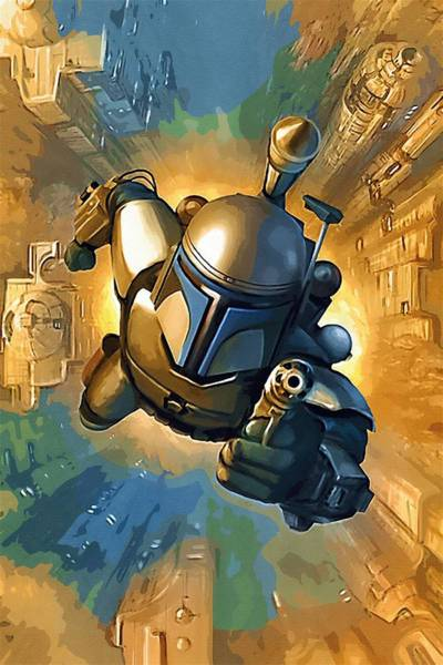 R2-d2 Digital Art - Empire Star Wars Poster by Larry Jones
