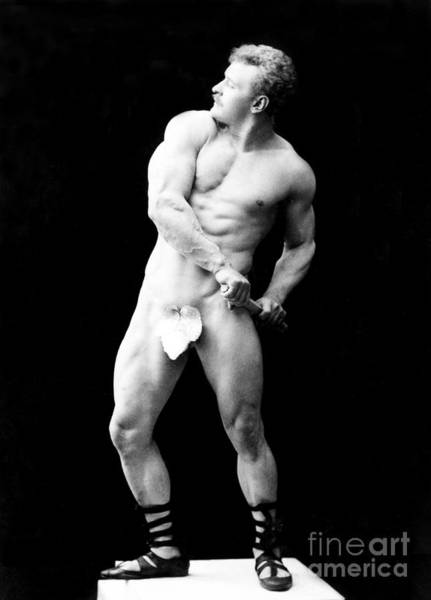 Photograph - Eugen Sandow, Father Of Modern by Science Source