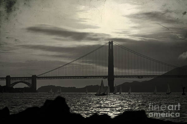 Wall Art - Photograph - Golden Gate Bridge In San Francisco by ELITE IMAGE photography By Chad McDermott