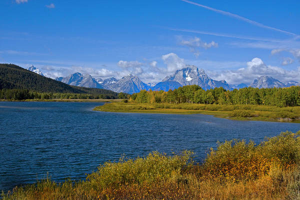 Photograph - Grand Tetons by Mark Smith