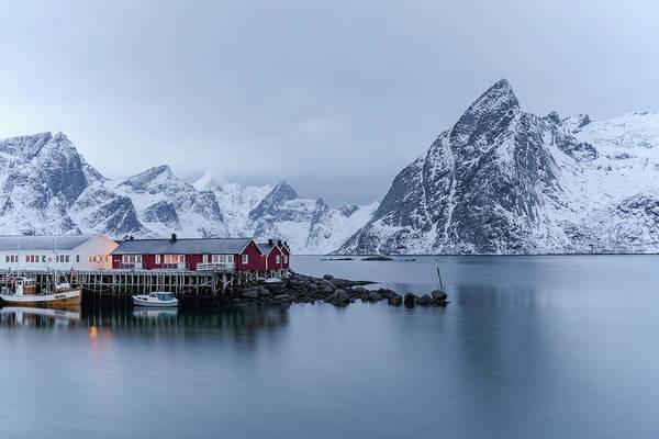 Berge Wall Art - Photograph - Hamnoy Lofoten - Norway by Joana Kruse
