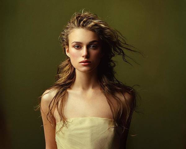 Wall Art - Digital Art - Keira Knightley by Mery Moon