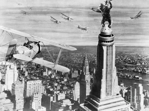 Photograph - King Kong, 1933 by Granger
