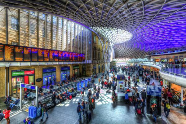 Wall Art - Photograph - Kings Cross Station London by David Pyatt