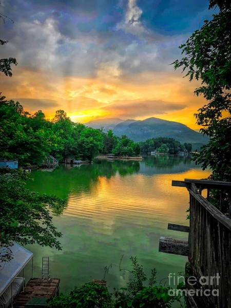 Photograph - Lake Lure by Buddy Morrison