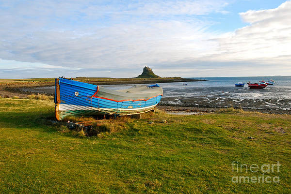Berwick Upon Tweed Photograph - Lindisfarne Castle by Kayme Clark