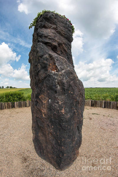Celtic Mythology Wall Art - Photograph - Menhir Stone Shepherd by Michal Boubin