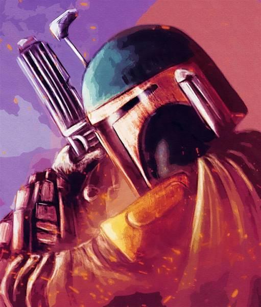 Star Wars Episode 3 Wall Art - Digital Art - Movies Star Wars Poster by Larry Jones