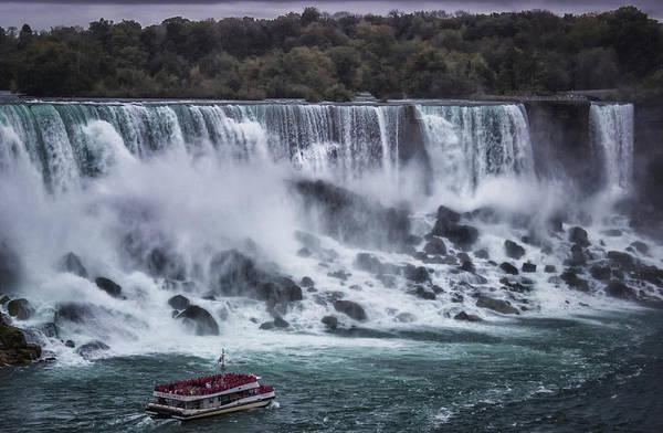 Steam Boat Photograph - Niagara Falls by Martin Newman