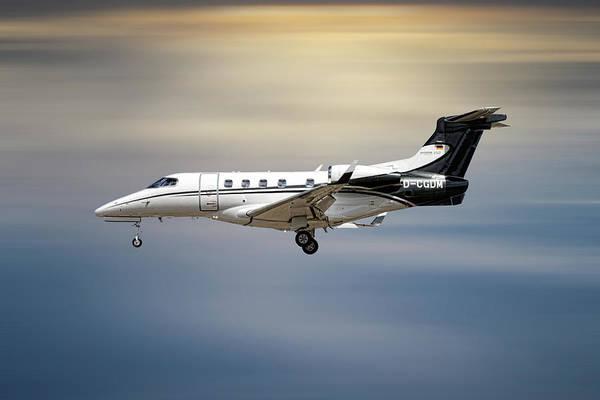 Aircraft Mixed Media - Phenom 300 Arrow by Smart Aviation
