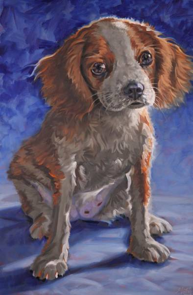 Painting - King Charles by Gary M Long