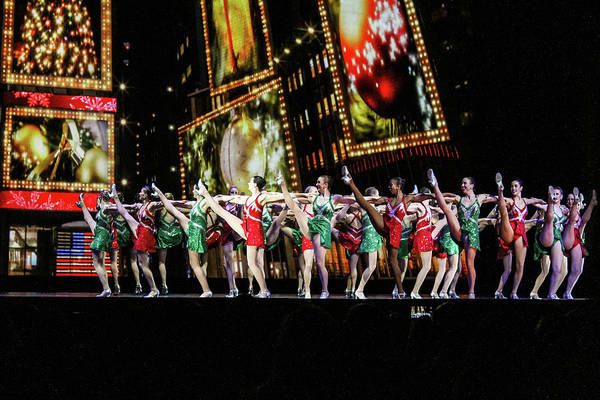 Rockettes Photograph - Radio City Rockettes New York City by Nicole Badger