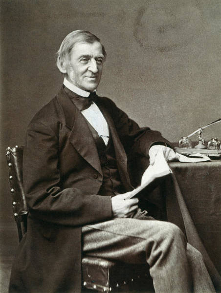 Photograph - Ralph Waldo Emerson by Granger