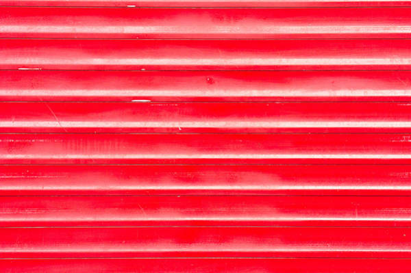 Tin Roof Wall Art - Photograph - Red Metal by Tom Gowanlock