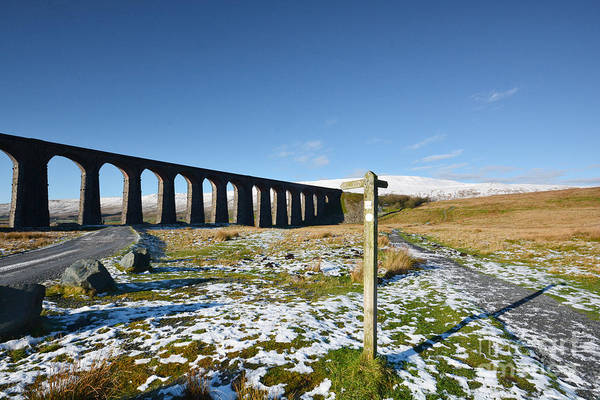 Wall Art - Photograph - Ribblehead Viaduct by Smart Aviation