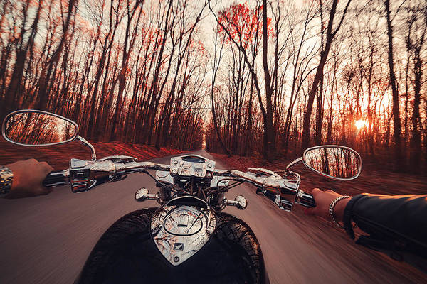 Motorcycle Photograph - Rune by Chris Thodd
