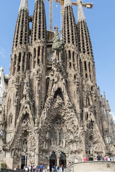 Wall Art - Photograph - Sagrada Familia - Barcelona Spain by Jon Berghoff