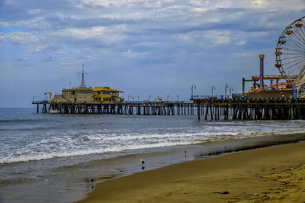 Photograph - Santa Monica Pier Collection- 11/36 by Gene Parks