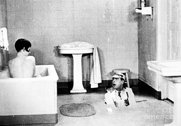 Wall Art - Photograph - Silent Still: Bathing by Granger