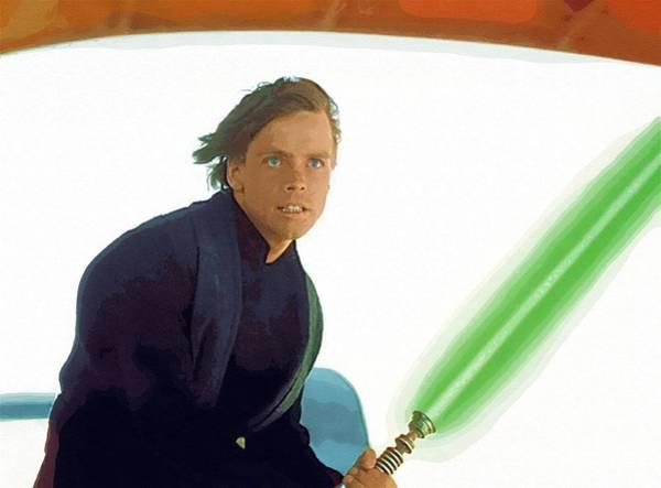 R2-d2 Digital Art - Star Wars The Trilogy Art by Larry Jones