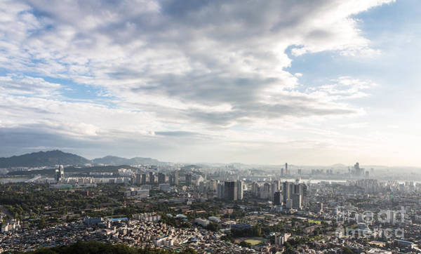 Photograph - Sunset Over Seoul In South Korea by Didier Marti