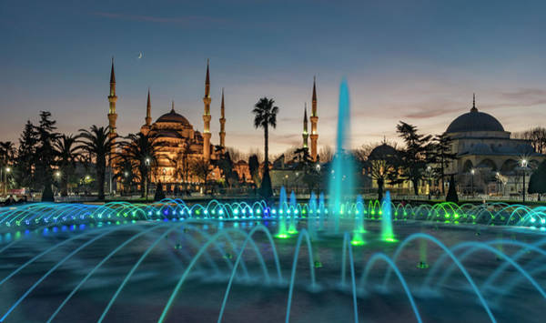 Wall Art - Photograph - The Blue Mosque by Ayhan Altun