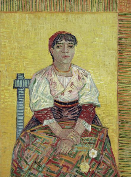 Painting - The Italian Woman by Vincent van Gogh