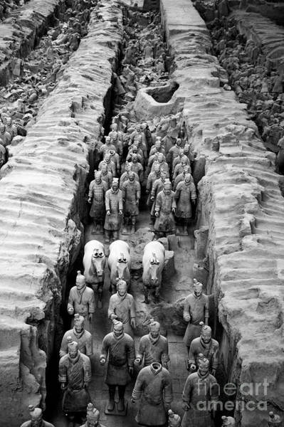 Famous Cemeteries Photograph - The Terracotta Army by Sami Sarkis
