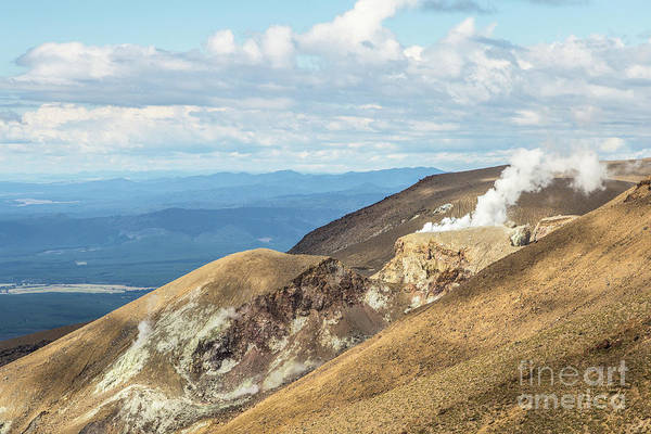 Photograph - Tongariro Alpine Crossing In New Zealand. by Didier Marti