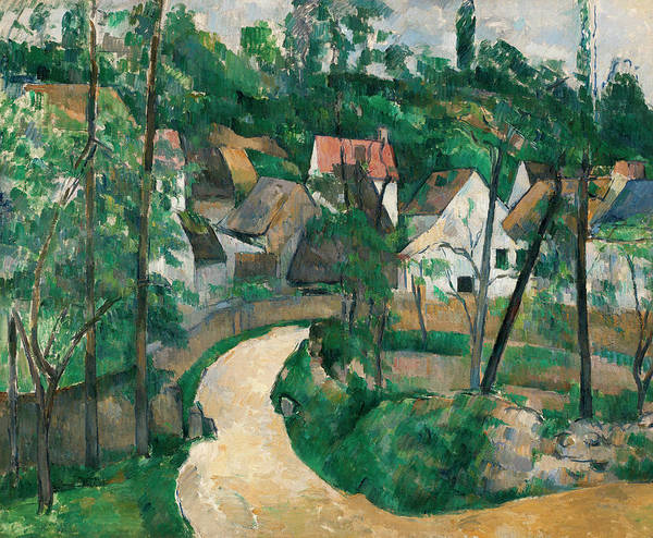 Mother Road Wall Art - Painting - Turn In The Road by Paul Cezanne