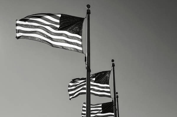 Photograph - United States Flag by Brandon Bourdages