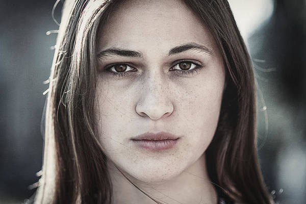 Photograph - Vera by Traven Milovich