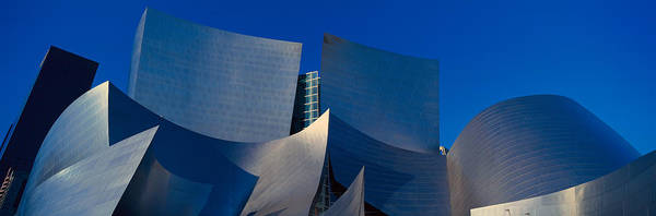 Modernism Photograph - Walt Disney Concert Hall, Los Angeles by Panoramic Images