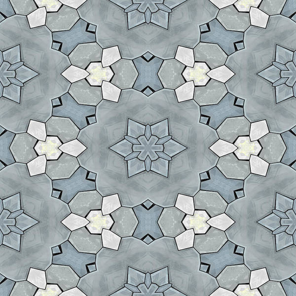 Wall Art - Digital Art - Kaleidoscopic Ornaments by Miroslav Nemecek