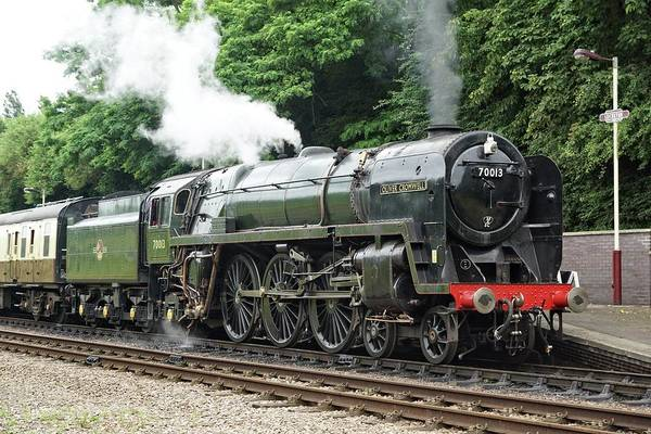 Photograph - 70013 Oliver Cromwell At Leicester by David Birchall